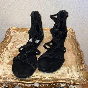 Dressy Black Sandals